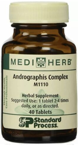 Medi Herb Andrographis Complex M1110 Herbal Supplement 40 Tablets  07/21