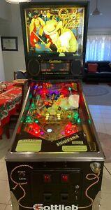 Cue Ball Wizard Pinball Machine - Gottlieb Arcade Serviced