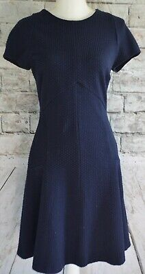 Banana Republic Short Sleeved Navy Blue Dress Women's Size 8
