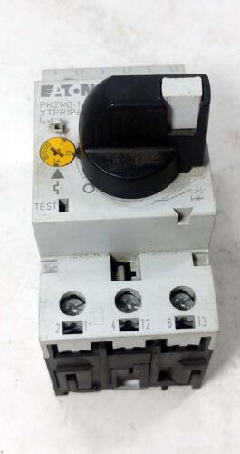 1 USED EATON PKZM0-1.6 MANUAL MOTOR CONTROLLER CIRCUIT BREAKER ***MAKE OFFER***