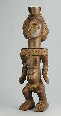 Buyu Boyo Nice Female Ancestor Figure statue Congo African Tribal Art Luba 0172