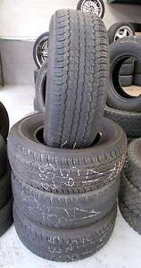 4 x 285 65 17 Dunlop Tyres Toyota Land Cruiser 100 series Ferntree Gully Knox Area Preview