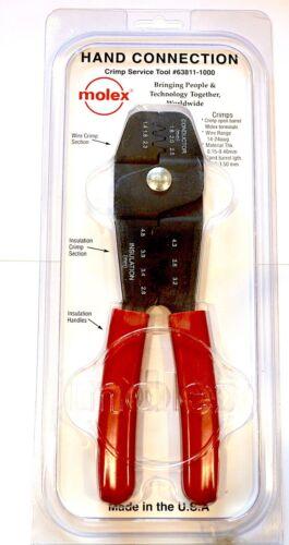 Molex 63811-1000  Crimping Tool For Mini-Fit Jr. MLX Others. SEE KIT PROMO