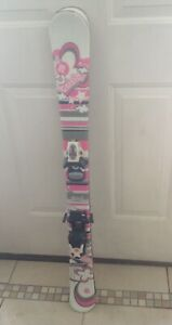 Girls rossignal skis with bindings