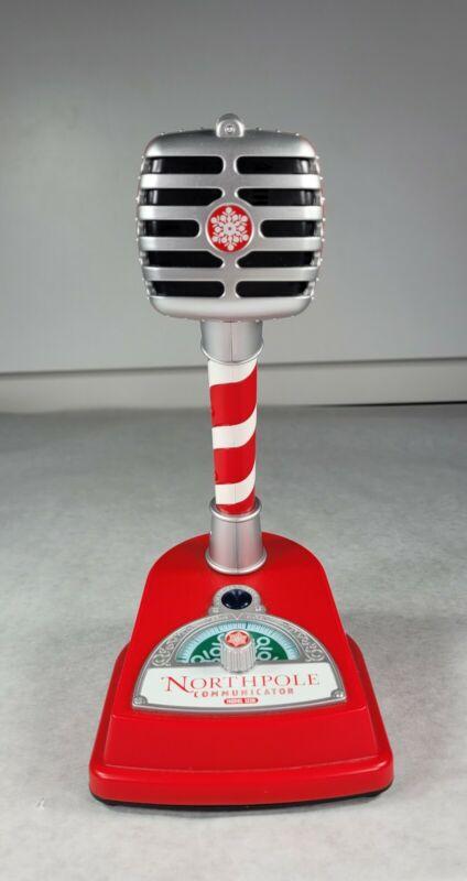 Hallmark North Pole Communicator Interactive Microphone Talk to Santa 1226