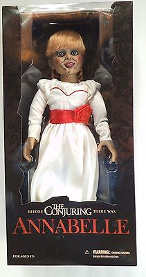 """Mezco Toyz The Conjuring 18"""" ANNABELLE Doll Prop, Mint in Box"""