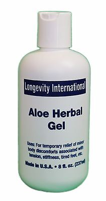 Analgesic Aloe Herbal Pain Relief Gel 8 oz - Best for arthritis relief - 240 ml