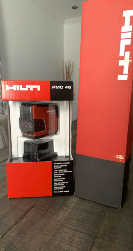 Hilti PMC 46 Full Solution Combination Line and Point Laser READ FIRST