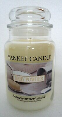 Yankee Candle Baby Powder 22 oz Large Jar Housewarmer Retired Scent HTF Rare New