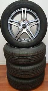 WHEEL & TYRE PACKAGE AUSCAR SAVOR 15x6.5 & 165/60R15 ALL ROUNDER Mermaid Beach Gold Coast City Preview