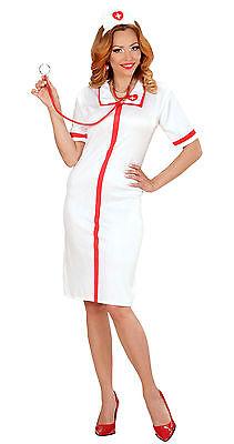 ra Damenkostüm NEU - Damen Karneval Fasching Verkleidung Kos (Damen Krankenschwester Kostüme)