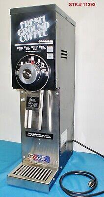 Grindmaster 875 Commercial 3 Lb Black Bulk Coffee Grinder Very Clean