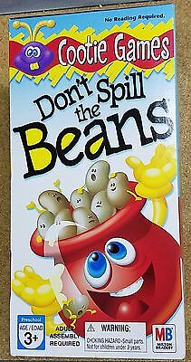 Dont Spill The Beans Game Hasbro Board Game Fun For Kids New Free Shipping