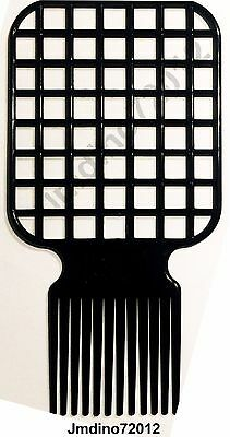 Afro & Twist Comb (Black)-Barber Favored