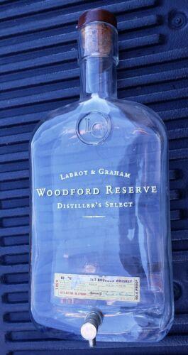 Woodford Reserve 4.50 L Bottle Bourbon 4.5L Collectors!!!  No Alcohol