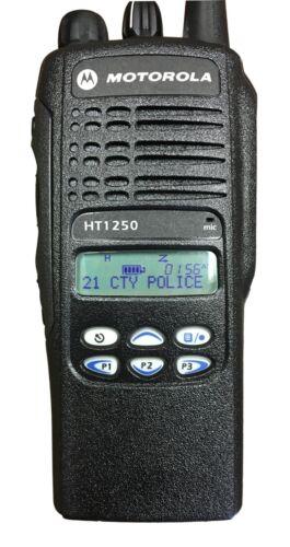 Motorola HT1250 **RADIO ONLY**, UHF 450-512, 128 CH, Lmtd Key AAH25SDF9AA5AN