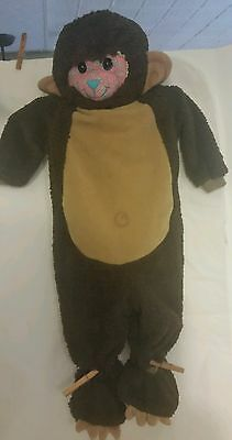 Costume Incharacter Little Monkey Zoo Animal Toddler Baby Boys Size M 12-18mths](Little Monkey Costume)