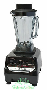 VitaEasy-VE767-High-Power-Blender-2200W-3HP-Motor-excellent-value-BLACK-NEW