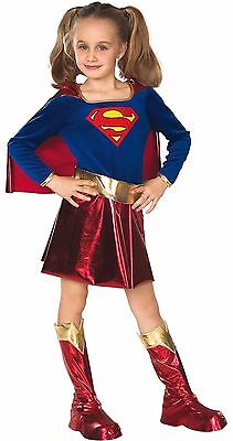 Supergirl Halloween Costume Girls Super Girl Superman Child Kids S M NEW - Supergirl Costume Girls