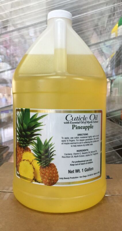 Unity Beauty Pineapple Cuticle Oil (Yellow) 1 Gallon