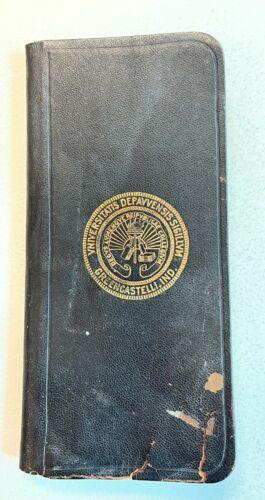 1907-1908 DePauw University Student Handbook Greencastle Indiana Advertising
