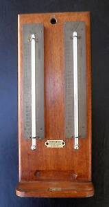 ANTIQUE MERCURY THERMOMETER 'S - TYC0S ROCHESTER NY & E. ESDAILE Ryde Ryde Area Preview