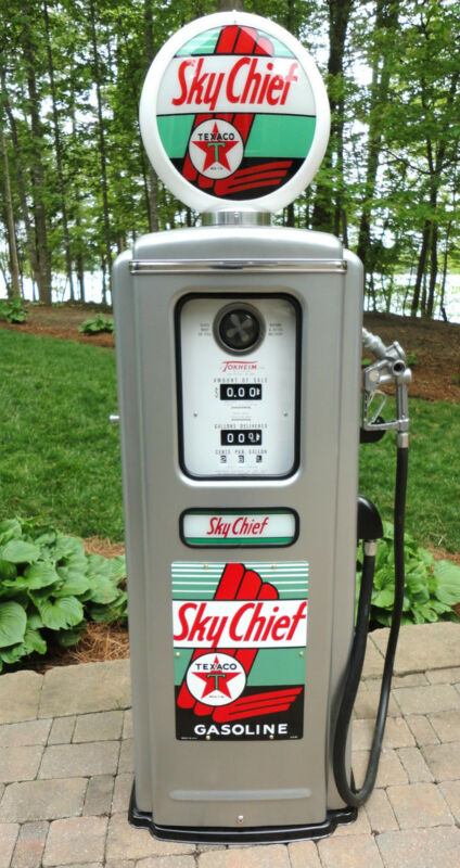 Texaco Sky Chief Model 39 Tokheim Full Size Gas Pump-vintage Re-creation