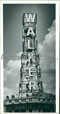 1982 Walker Bank Tower Salt Lake City Utah Original News Service Photo