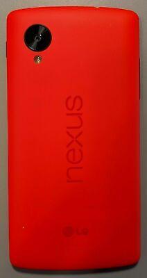 Nexus 5 D820 - 32GB - Red (Unlocked) Smartphone