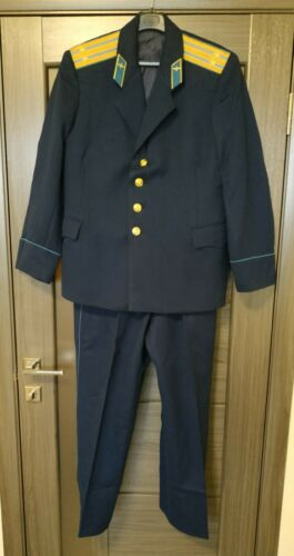 USSR SOVIET PARADE TUNIC AND trousers  lieutenant colonel  AIR Force VDV SIZE 50