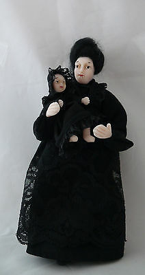 Dolls House Miniature Vampire Nanny 1-12TH Scale