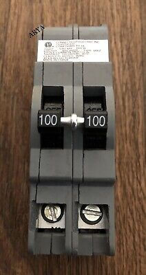 Zinsco Ubiz-2100 Ubiz2100 100 Amp 2 Pole Circuit Breaker Thick Series New