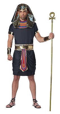 Deluxe Pharaoh King Tut Egyptian Adult Costume   (Pharaohs Costume)