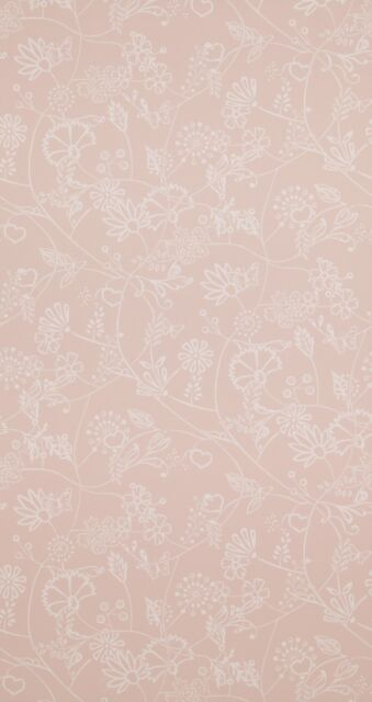 Vliestapete modern rosa  Vlies-tapete BN Wallcoverings Hej 218173 rosa gemustert | eBay