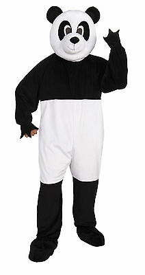 Adult Panda Bear Mascot Costume Full Body Animal Suit Size Standard (Bear Suit Costume)