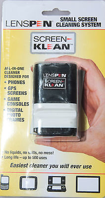 LensPen Screen Klean - Small Screen Cleaning System Pad w/Brush J-377 - NEW