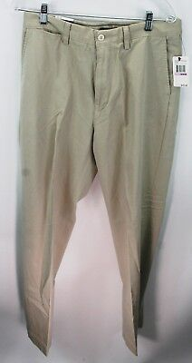 Nautica Men's New with Tags size 32 x 32 True Khaki pants stone  P01080