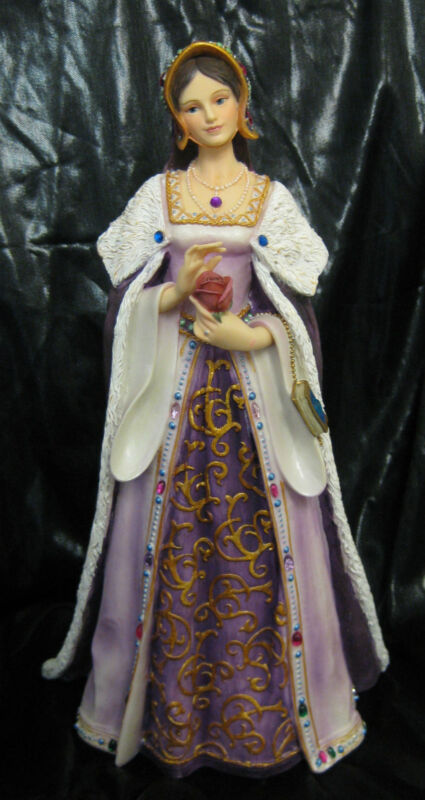NIB Catherine of Aragon Queen of England Figurine King Henry VIII 1st Wife Tudor