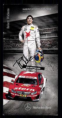 Robert Wickens Autogrammkarte Original Signiert Motorsport + G 15281