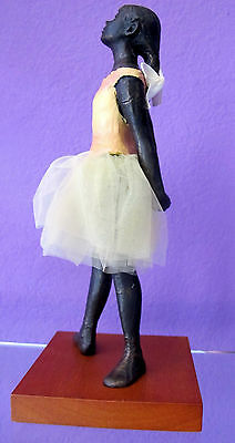 Degas Little Dancer - Edgar Degas 14 Year Old Little Ballerina Dancer Statue Sculpture