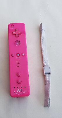 Original Nintendo Wii Wii U Remote Motion Plus Controller PINK