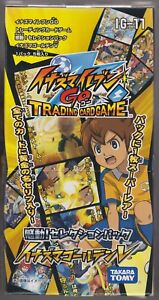 Inazuma Eleven Go Card Game Selection Pack Booster Sealed Box IG-11 Japanese