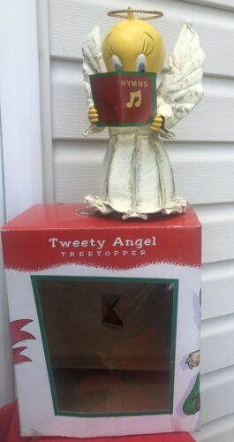 Tweety Bird Angel Tree Topper Warner Brothers with Box