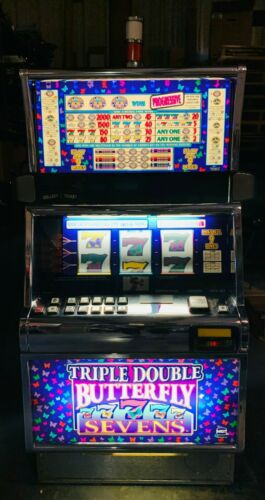 IGT Triple Double Butterfly Sevens Slot Machine For Sale