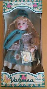 Collector's Vanessa 2003 Limited edition doll, green dressed Clayton Monash Area Preview
