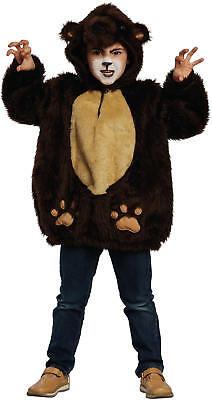 Bär Braunbär Kinder Karneval Fasching Kostüm - Braunbär Kostüm