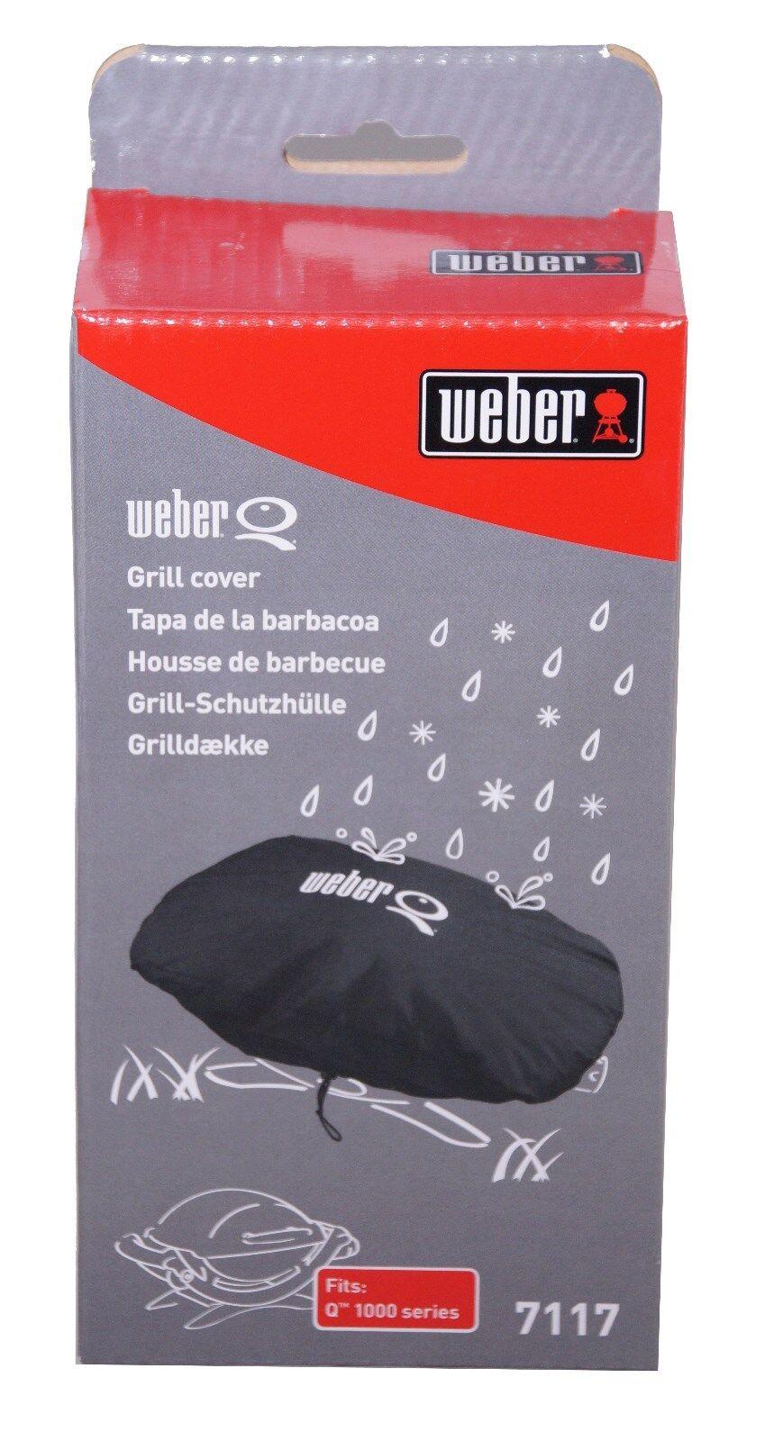 Weber Abdeckhaube Standard Q100 Q120 Q140 Q1000 Q1200 Q1400 Grillabdeckung BBQ