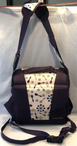Munchkin Travel Booster Seat Purple ~ Storage