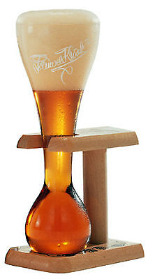 New Pauwel Kwak Belgian Ale Beer Glass with Wooden Stand (Glasses)
