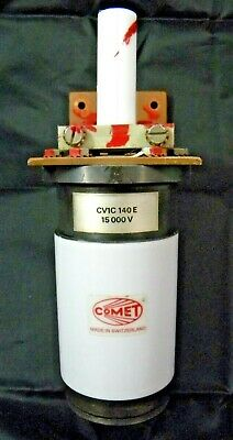 Comet Cv1c-140e Variable Capacitor Trumpf Laser  Tested Part Rf Power Supply